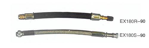 Extensions with Nylon hose