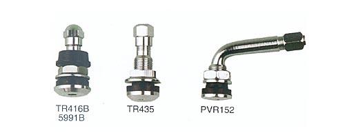 chrome plated clamp down tyre valve for passenger car & light truck