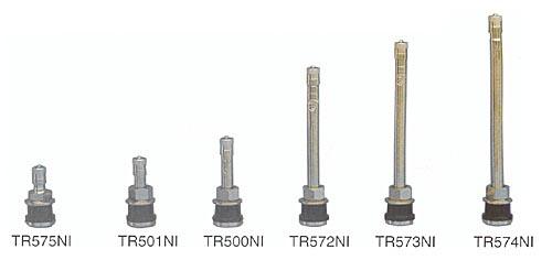 nickel or chrome truck valve