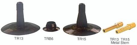 rubber covered valve for passenger car